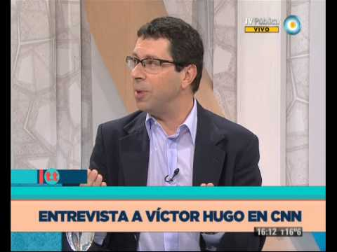 TesT - Víctor Hugo en CNN - 21-05-13