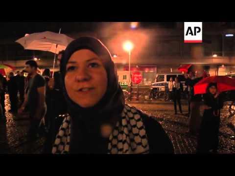 Anti-Israel groups stage vigil for those killed in Gaza