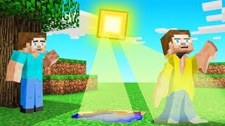 Minecraft BUT The SUN MELTS YOU!