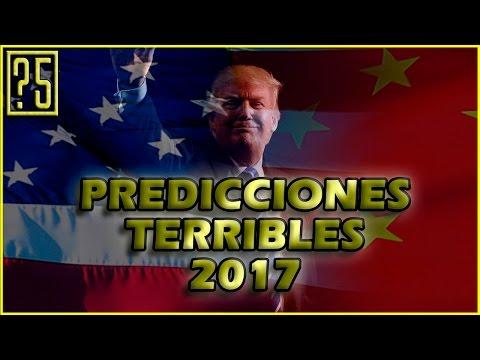5 Predicciones Terribles que podrían suceder en 2017