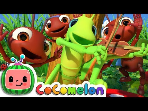 The Ant and the Grasshopper | CoCoMelon Nursery Rhymes