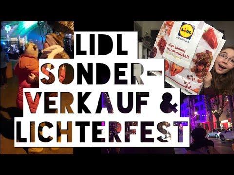 Vlog 19 | Lidl Sonderverkauf Haul & Lichterfest ♥