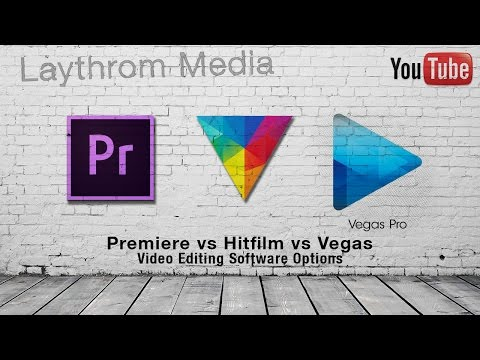 Hitfilm vs Adobe Premiere vs Sony Vegas - Video Editing Software for PC