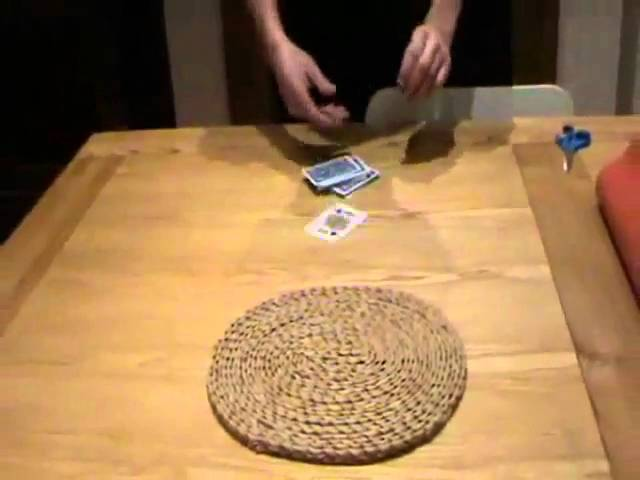 Self Cut Deck Magic Trick