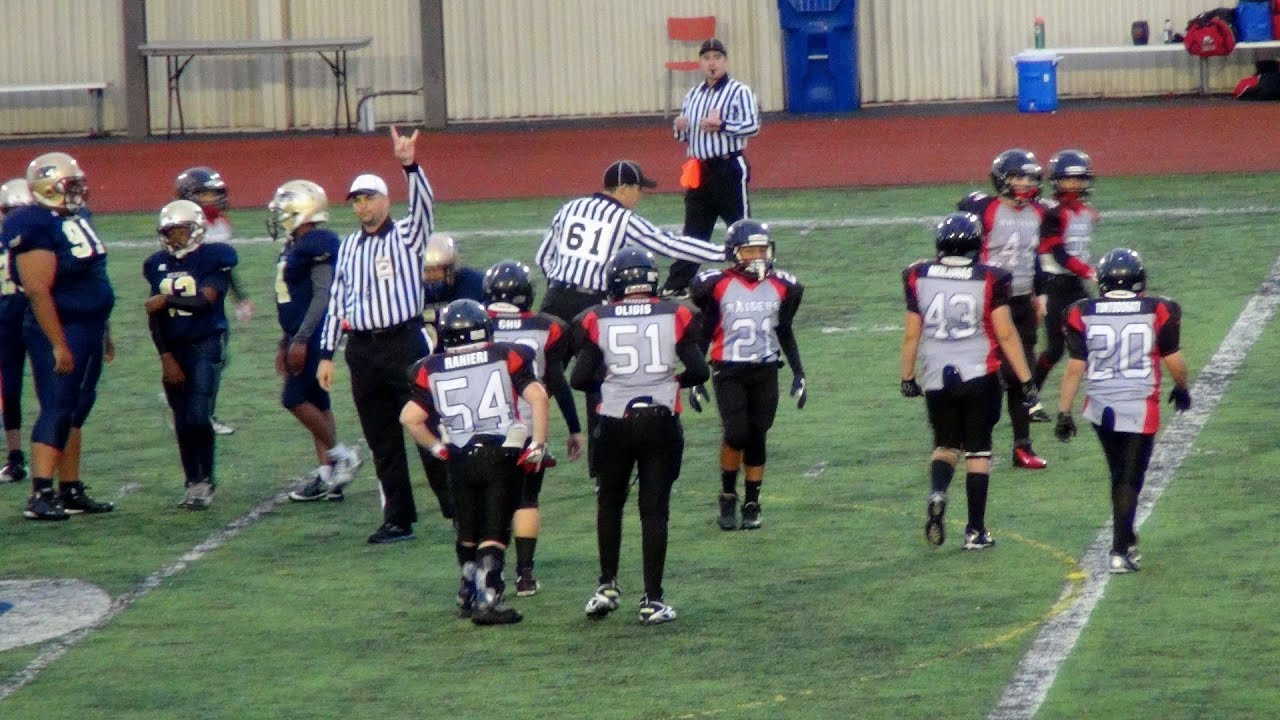 Raiders pee wee football