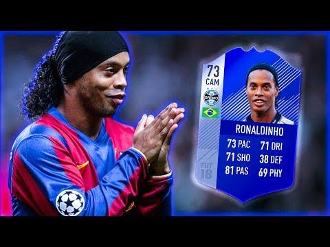 🤙🏻 КАРЬЕРА ЗА РОНАЛДИНЬО 🤙🏻 КАРЬЕРА ЗА ИГРОКА FIFA 18