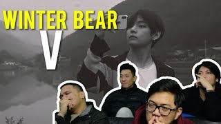 WINTER BEAR BY V - SPEECHLESS! (MV Reaction)