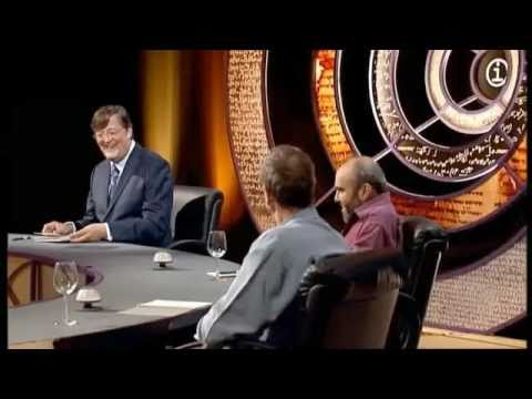 Stephen Fry -  Very funny scottish accents on QI