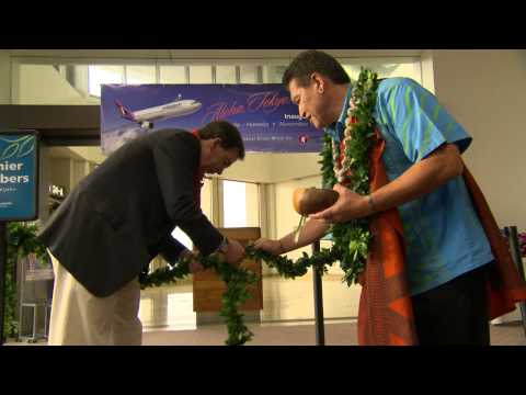 Hawaiian Airlines Haneda Inaugural Flight Ceremonies