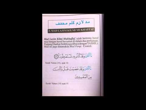 Belajar Tajwid Mudah ( hukum-hukum mad )