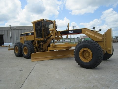 Cat 16H Motor Grader
