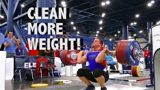 1 Easy Progression To Clean More Weight!