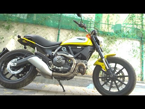 #Bikes@Dinos: Ducati Scrambler Icon First Look, Walkaround Review, Exhaust Note