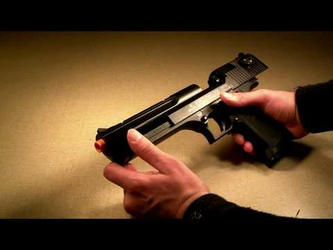 Cybergun KWC Desert Eagle review