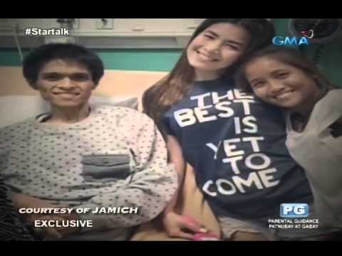 Startalk: Panoorin Ang Exclusive Interview Kina Jam Sebastian At Michelle Liggayu O Jamich! video