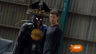 Power Rangers Dino Charge - Breaking Black - Unmorphed Fight | Episode 5
