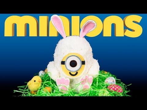 MINIONS Easter Bunny Cake - MINIONS húsvéti nyuszi torta
