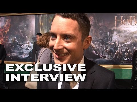 The Hobbit: The Battle of the Five Armies: Elijah Wood Exclusive Premiere Interview