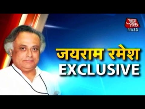 Exclusive with Jairam Ramesh on Land Ordinance, Rahul Gandhi