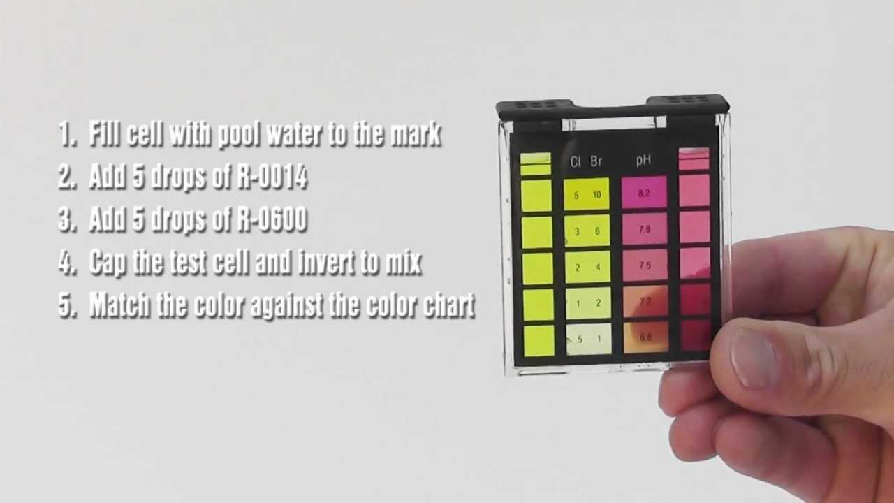 Basic oto test kit youtube - Hth swimming pool test kit instructions ...