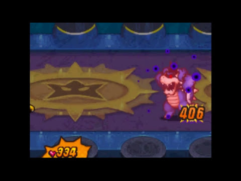 Mario & Luigi: Bowser's Inside Story - Final Boss Dark Bowser/Core