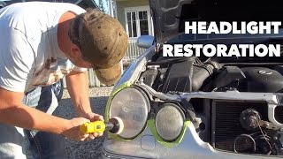 How To: 3M Headlight Restoration Kit
