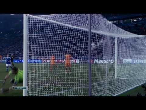 Huntelaar vs Real Madrid (Real Madrid - Schalke 04) 6 - 1