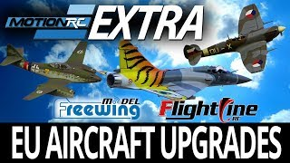 EU Aircraft Upgrades & 3DPUP Sets! - Motion RC Announcement