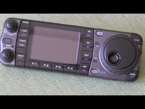 Icom IC-7000 Ham Radio Unboxing