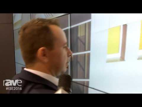 ISE 2016: EDBAK Details 3×3 Modular Video Wall