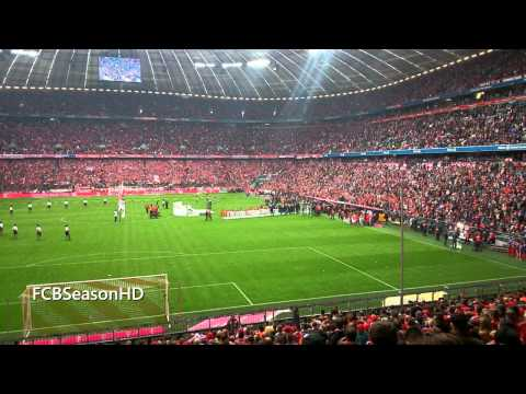 FC Bayern München vs FSV Mainz (2-0) | Meisterfeier Allianz Arena |Fotoshow + Video| 23.05.2015 | HD