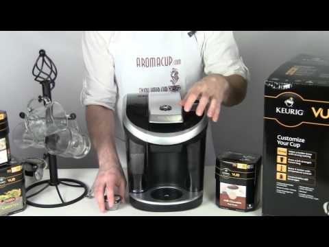 Keurig VUE Hot Cocoa (How to brew Cafe Drinks)