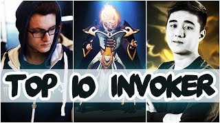 TOP 10 BEST INVOKER PLAYERS IN DOTA 2