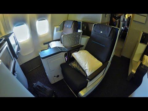 Flight Report   KLM Boeing 777 New World Business Class Amsterdam To New York JFK[4K]