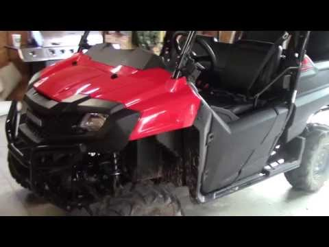 2016 Honda Pioneer 700-4 Owner Review