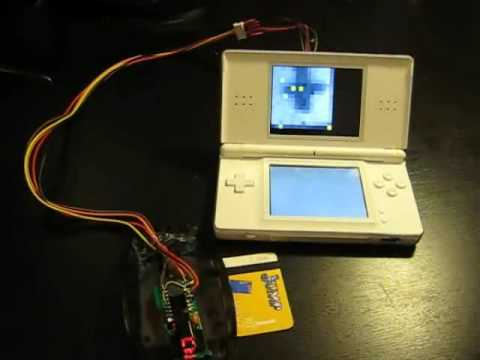 A NintendoDS uses and optical mouse as a low res webcam