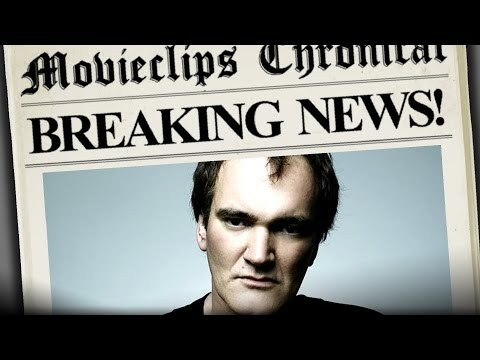 Tarantino Script Leaked! - Movieclips Breaking News HD