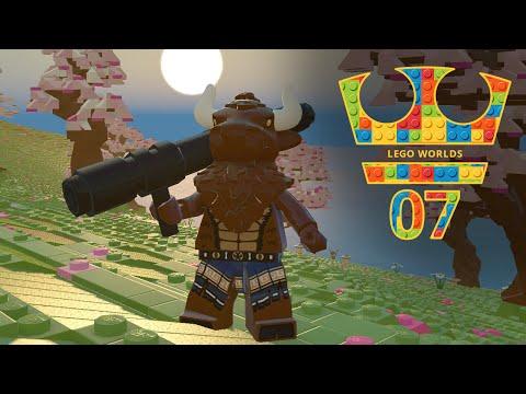 Jirka Hraje - Lego Worlds 07 - Minotaur s bazukou