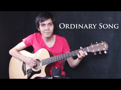Ordinary Song - Marc Velasco (fingerstyle guitar cover)