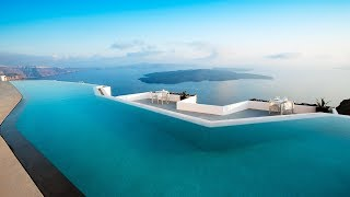 Hotel Grace Santorini: is this the world's most beautiful pool? Full tour