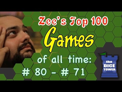 Zee's Top 100 Games of all Time: # 80 - # 71