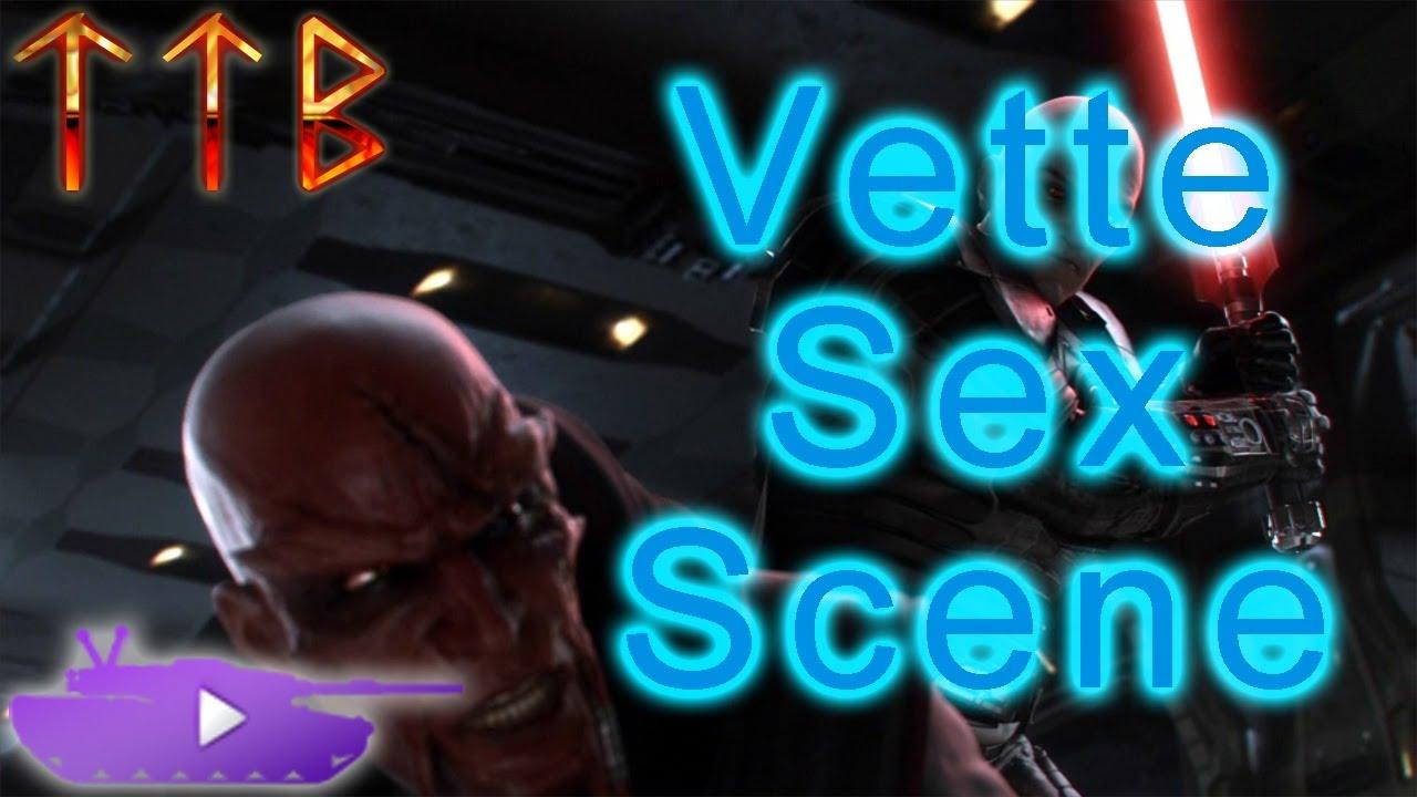 SWTOR - Vette Companion Sex Scene (uncensored!) - ft. TTB