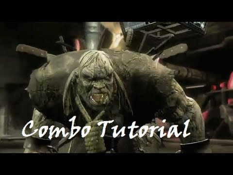 Injustice - Combo Tutorial - Solomon Grundy (63% No Super)