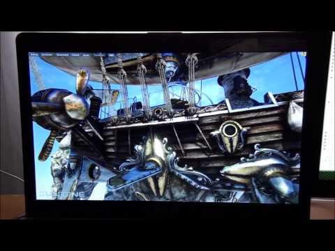 Unigine Heaven dx11 Benchmark nvidia gt 650m and intel hd4000 comparison