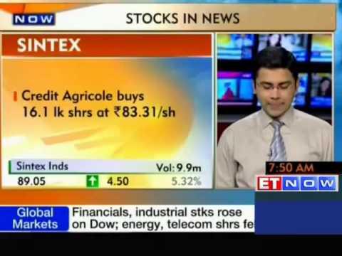 STOCKS In News: Tech Mahindra, Tata Motors, Sintex