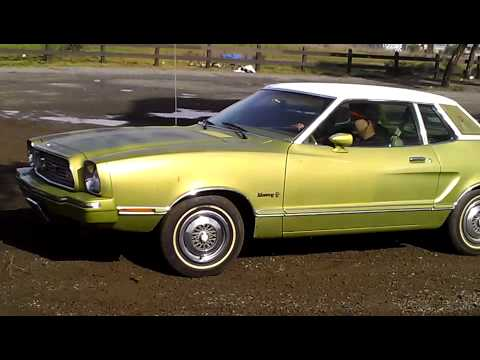 1974 Ford Mustang 2 Ghia East Oakland Youtube