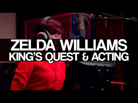 Zelda Williams on King's Quest and Voice Acting