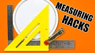 5 Quick Measuring Hacks - Woodworking Tips and Tricks