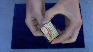 Matchbox Penetration Magic Trick - Amazing!!!