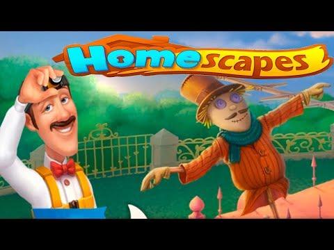 HomeScapes Дворецкий #5 (уровни 29-34) ОСТИН на КРЫШЕ Детское Видео Игровой Мультик